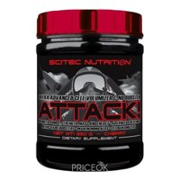 Фото Scitec Nutrition Attack 2.0 320 g