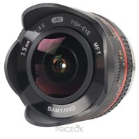 Фото Samyang 7.5mm f/3.5 UMC Fish-eye Micro 4/3