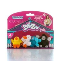 Фото BeanZees Набор с 4 игрушек Серия 4 (34041)