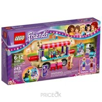 Фото LEGO Friends 41129 Парк развлечений: фургон с хот-догами