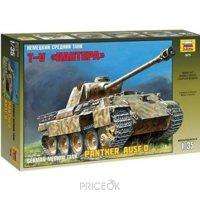 Фото ZVEZDA Немецкий средний танк Пантера 1:35 (подарочный набор) (ZVE3678PN)