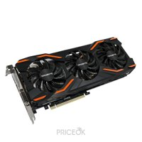 Фото Gigabyte GeForce GTX 1080 WINDFORCE OC 8Gb (GV-N1080WF3OC-8GD)