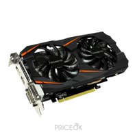 Фото Gigabyte GeForce GTX 1060 WINDFORCE OC 6Gb (GV-N1060WF2OC-6GD)