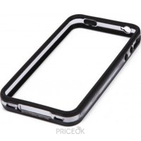 Фото Cellular Line BUMPERIPHONE4BK