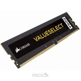 Фото Corsair 16GB DDR4 2400 MHz Value Select (CMV16GX4M1A2400C16)