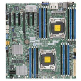Материнскую плату SuperMicro X10DRH-iT