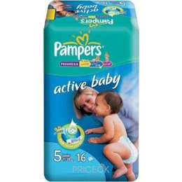 Подгузник Pampers Active Baby Junior 5 (16 шт.)