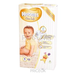 Подгузник Huggies Elite Soft 4 (66 шт.)