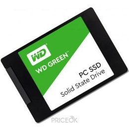 Фото Western Digital SSD Green 240GB (WDS240G1G0A)