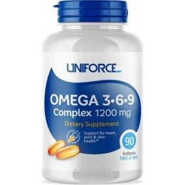 Спортивный витамин и минерал Uniforce Omega 3-6-9 Complex 1200 mg 90 caps