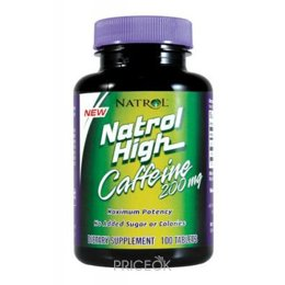 Фото Natrol High Caffeine 200 mg 100 tabs