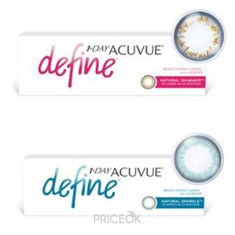 Контактную линзу Johnson&Johnson 1-Day Acuvue Define