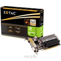 Видеокарту Zotac GeForce GT 730 4GB Zone Edition (ZT-71115-20L)