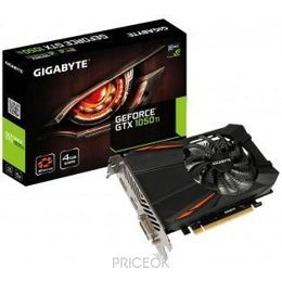 Видеокарту Gigabyte GeForce GTX 1050 Ti D5 4Gb (GV-N105TD5-4GD)