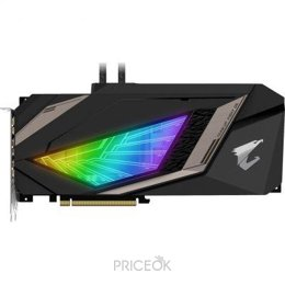 Видеокарту Gigabyte GeForce RTX 2080 XTREME WATERFORCE 8G AORUS (GV-N2080AORUSX W-8GC)
