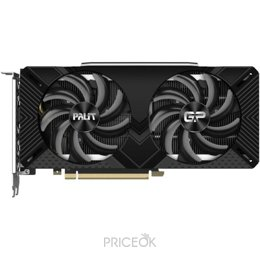 Видеокарту Видеокарта Palit GeForce RTX 2060 SUPER GP OC (NE6206SS19P2-1062A)