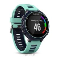 Фото Garmin Forerunner 735XT Run Bundle Midnight Blue/Frost Blue (010-01614-16)