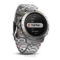 Фото Garmin Fenix Chronos Steel with Brushed Stainless Steel Watch Band (010-01957-02)